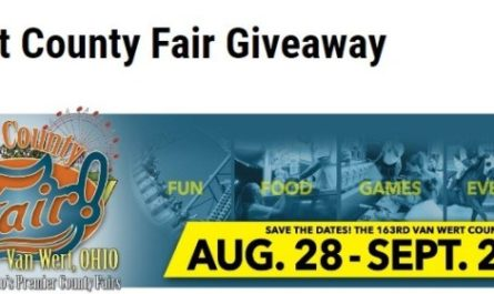 Van Wert County Fair Giveaway