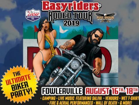 WRIF Easyrider Rodeo Tour Contest