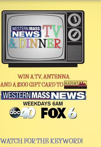 Western Mass News TV & Dinner Sweepstakes - Win Gift Cards