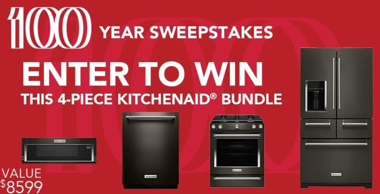 kitchenAid 100 Years Sweepstakes