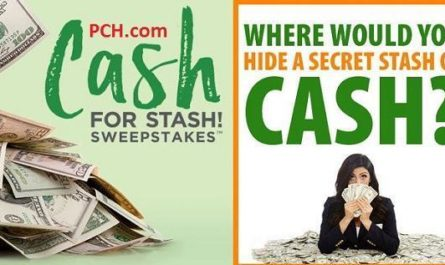 $20000 in PCH Secret Cash Stash Sweepstakes