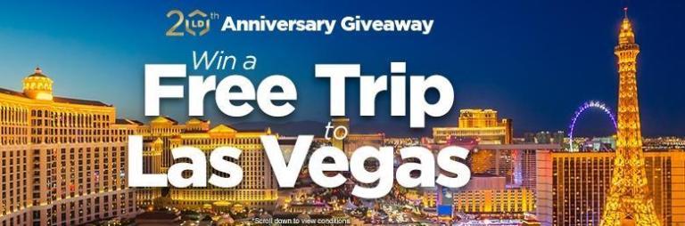 Las Vegas Trip Giveaway