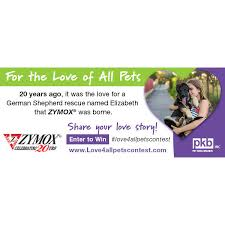 Zymox For the Love of all Pets Contest