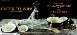 Everything Kitchens Fiesta Mystical Halloween Set Giveaway