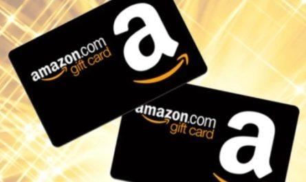 Amazon Gift Card Giveaway