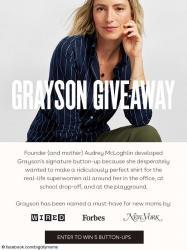 Big City Moms Grayson Giveaway
