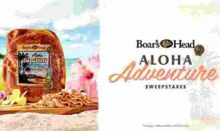 Boar's Head Aloha Adventure Sweepstakes