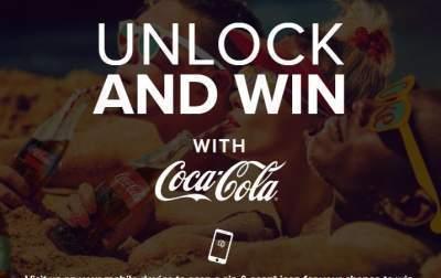 Coca-Cola Unlock and Win Contest