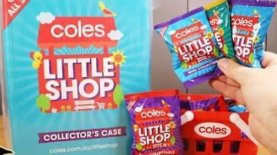 Coles Little Shop Mini Collectable Competition