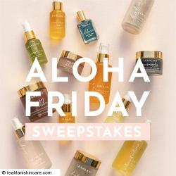 Leahlani Skincare End of Summer Giveaway