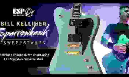 ESP Guitars Sparrowhawk Sweepstakes