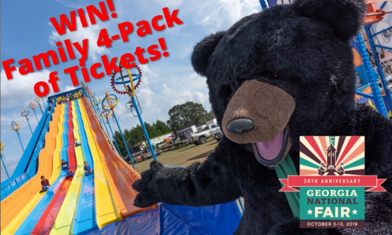 Georgia National Fair Ticket Giveaway