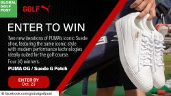 Global Golf Post Puma Suede Sweepstakes