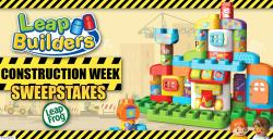 LeapFrog LeapBuilders Construction Week Sweepstakes