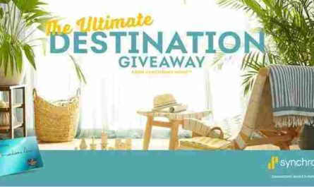 My Synchrony Ultimate Destination Giveaway