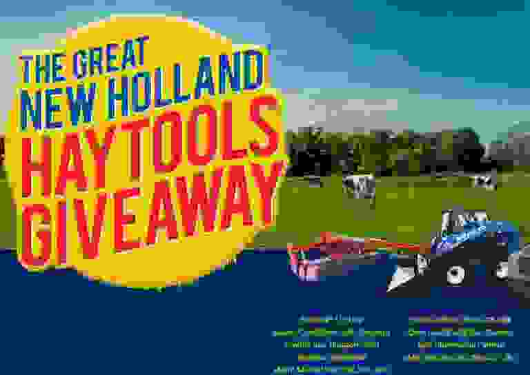 Great New Holland Hay Tools Giveaway