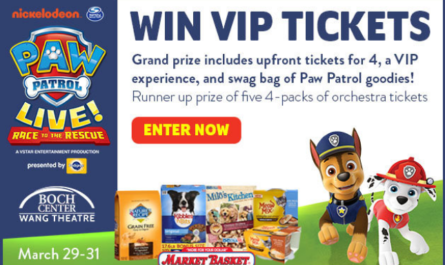 Paw Patrol Live Race To The Rescue Sweepstakes