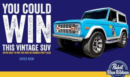 Pabst Blue Ribbon Easy Vintage Sweepstakes