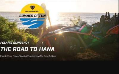 Polaris Slingshot Summer of Fun Sweepstakes