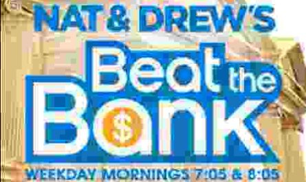 QMFM Nat and Drew's Beat The Bank Contest