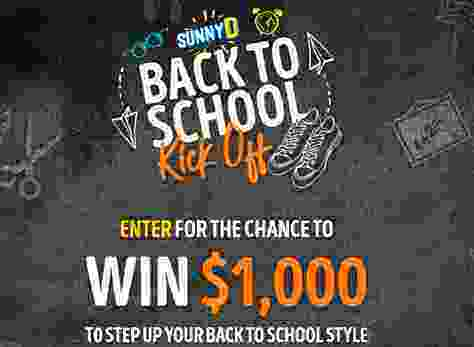SUNNYD Back to School Kick Off Contest