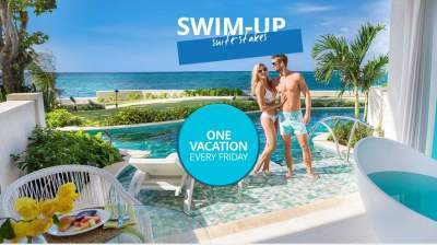 Sandals Resorts Swim-up Suite-Stakes Sweepstakes