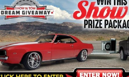 Show and Tow Dream Giveaway Sweepstakes