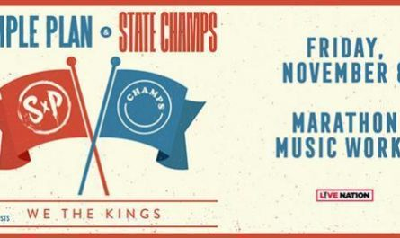 Simple Plan & State Champs Sweepstakes