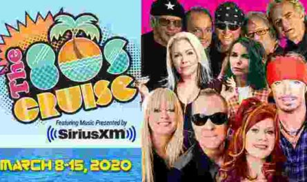 SiriusXM 80s Cruise 2020 Sweepstakes