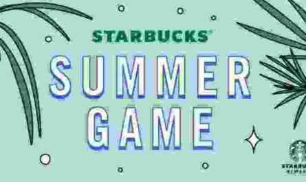 Starbucks Summer Game Contest