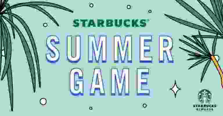 Starbucks Summer Game Contest