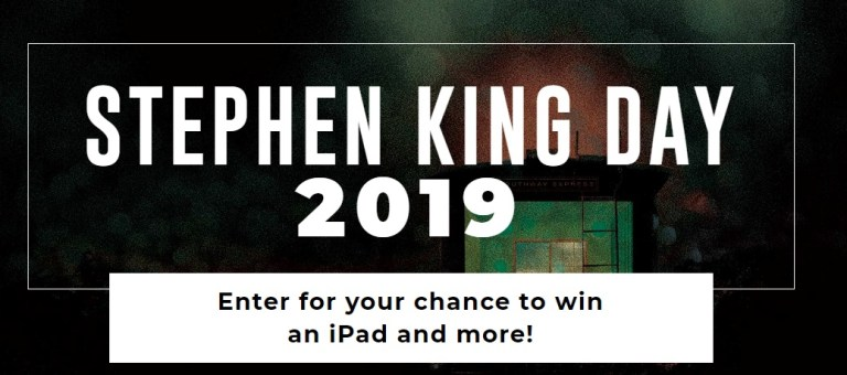 Stephen King Day Sweepstakes