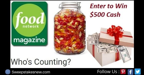Food Network Magazine Who Counting Contest