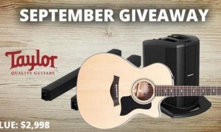 Taylor & Bose Gear Giveaway