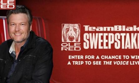 The Voice Team Blake Flyaway Sweepstakes
