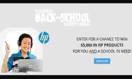 Valpak Give Back to School Sweepstakes