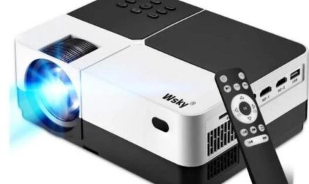 Wsky Portable Home Theater Video Projector Giveaway