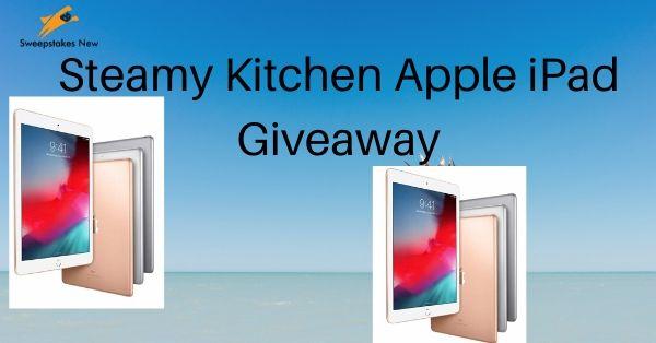 Steamy Kitchen Apple iPad Giveaway