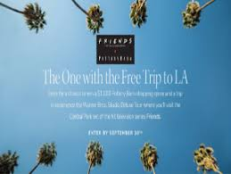 Pottery Barn The One with the Free Trip to LA Sweepstakes