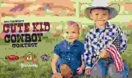 PFI Western Cute Kid Cowboy Contest