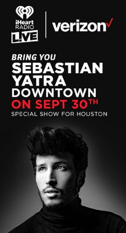 iHeartRadio LIVE And Verizon Bring You Sebastian Yatra Sweepstakes