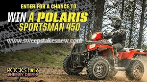 FLW Fishing Polaris Sportsman Giveaway