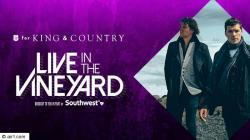 Air1 Positive Hits For King And Country Vineyard Sweepstakes