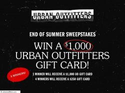 Barnes & Noble The End of Summer Sweepstakes