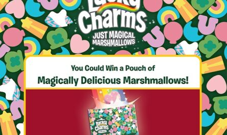 Lucky Charms Marshmallows Only Sweepstakes