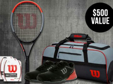 Tennis Express Black October Giveaway