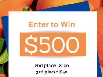 Win $500 with Mandarins from Chile Sweepstakes