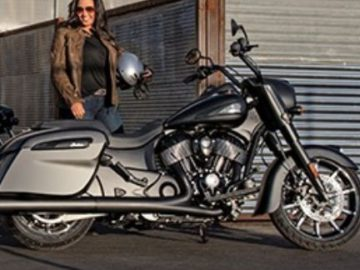 Indian Springfield Dark Horse Giveaway