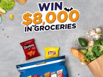 Tasty Rewards $8,000 in Groceries Sweepstakes