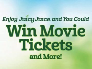 Juicy Juice Movie Tickets Instant Win Game